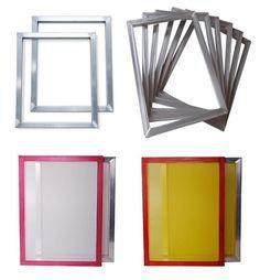 Silk Screen Frame with mesh(kiwo glue)  http://www.screenprinterframe.com/Silk-Screen-Fame-1232.html