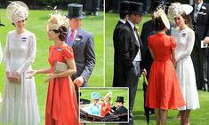 Kate catches up with lookalike Princess Mary of Denmark at Royal Ascot