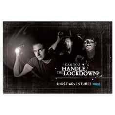 Ghost Adventures Large Poster