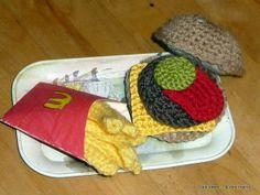 FREE PATTERN ~ C ~ WRITTEN IN FRENCH ~ Hamburger-au-crochet.JPG