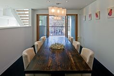 BEAUTIFUL TABLE!!! 150 W - industrial - dining room - toronto - Peter A. Sellar - Architectural Photographer