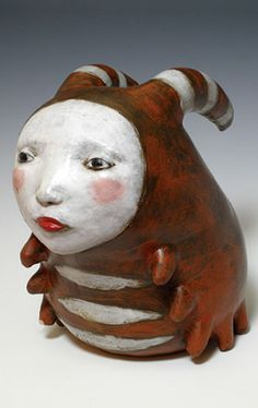 Ginger Markley, an awesome US-based ceramic artist