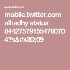 mobile.twitter.com alhadhy status 844275791554760704?s=09