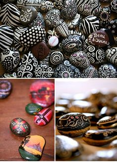 Painted Rocks by sweet.dreams