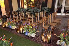 A truly magical night. @hotelmazarin #NOLA #NewOrleans #Wedding #Courtyardweddings Ceremony Decorations, Table Decorations, J Collection, Courtyard Wedding, New Orleans Hotels, New Orleans Wedding, Black White Gold, Wedding Photography, Plants