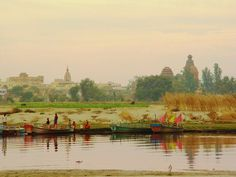 Most sacred Yamuna River, Sri Vrindavana Shree Krishna, Radhe Krishna, Hare Rama Hare Krishna, The Mahabharata, One Step, Mughal Empire, Krishna Images, Hindu Art, India Travel