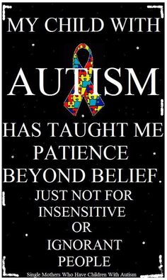 ...and for those people, I have cards to give them that eloquently explain autism and sensory-overload meltdowns. #autismawareness