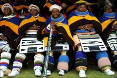 Let's take a short visit to South of Africa and focus on the Ndebele people for a while. The Ndebele are a Bantu group of people who are pa. I Am An African, African Wear, African Fashion, African Attire, Tony Ward, Georges Hobeika, African Traditional Dresses, Traditional Outfits, Traditional Wedding