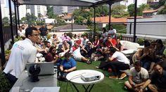 Viajantes Dubbi reunidos no Aki Hostel. Hoje às 18h começa nosso happy hour aqui! Todos estão convidados!! - http://ift.tt/1HQJd81