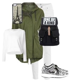 """""""Ready for School #10 ♡"""" by someonefromsomewhere ❤ liked on Polyvore featuring Paige Denim, Topshop, T By Alexander Wang, NIKE and CellPowerCases"""