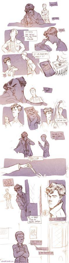Teen Sherlock - The Bluebell's Experiment Pt1 by DrSlug.deviantart.com on @deviantART