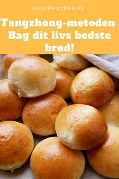 De absolut bedste boller nogensinde! Bag dit livs bedste bagværk med Tangzhong-metoden, som er en japansk bagemetode, som giver det lækreste brød!