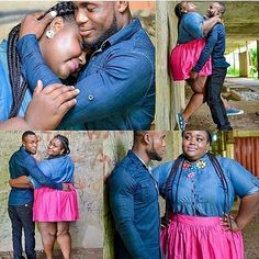 """""""I love her size""""- Man whose pre-wedding photos went viral reveals why he loves his fiancee - Wedding Digest Naija"""