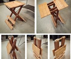 This table design is classic. A fun project for a beginner woodworker.