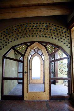 Hallway glass cob