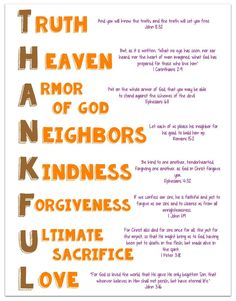 I want to talk with my students about things that we should be thankful for. I want to guide their thinking, as always, to the Bible, and what we can be thankful for according to the Bible. I put t… Bible Study For Kids, Bible Lessons For Kids, Kids Bible Verses, Children Sunday School Lessons, Children's Bible, Biblical Verses, Scriptures, Thanksgiving Poems, Thanksgiving Sunday School Lessons