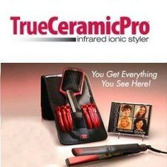 True Ceramic Pro Infrared Ionic Styler AS SEEN ON TV