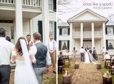 happy groom, priceless moments, outdoor wedding ceremony, ceremony locations, smyrna wedding, wedding photography, beautiful veil, southern wedding :: James + Elena's Wedding at The Sam Davis Home in Smyrna, TN :: with Christine