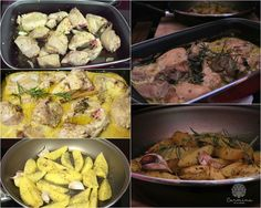 Pollo asado con leche con patatas a las hierbas, paso a paso http://www.carminaenlacocina.com/2015/12/pollo-asado-con-leche.html