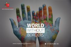 World without Borders !!  The future world is going to be without borders. #Learn a foreign #language to be a true World citizen.  Learn Japanese at at My Learning Planet. Visit www.mylearningplanet.in or call 9899888185.