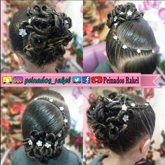 Gymnastics Hair, Girls Updo, Updos, Little Girls, Braids, Hair Beauty, Victoria, Hairstyle, Instagram
