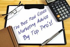 Top Real Estate Marketing Advice From 20 Top #Socialmedia and #Realestate Professionals From Around The Country:  http://www.maxrealestateexposure.com/top-marketing-tips-20-real-estate-social-media-professionals/