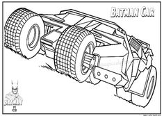 batman car free printable coloring pages 01