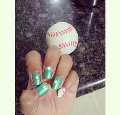 Happy Opening Day! Here Are 10 Cute Baseball Nail Art Ideas
