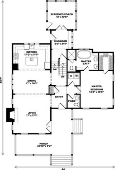 Favorite #2 - Wildmere Cottage - Cottage Living | Southern Living House Plans