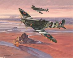 Aviation Art by Roy Grinnell                                                                                                                                                      More