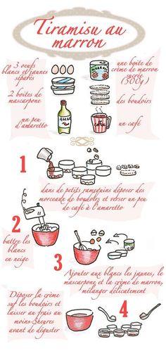 b e a n i p e t: Foodie - Illustrated Classic Cheesecake & Tiramisu Tiramisu, Cooking Time, Cooking Recipes, Delicious Desserts, Dessert Recipes, Classic Cheesecake, Baking Cupcakes, Cocktails, Food Illustrations
