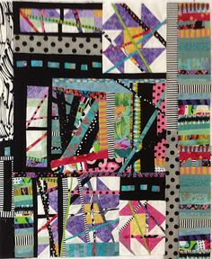 I need to keep looking at this blog, fantastic quilt teacher