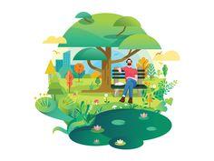 Enjoying nature. by SHYLESH - Dribbble