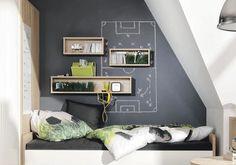Tafelfarbe im Jugendzimmer: Definitiv eine coole Idee.