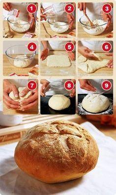 Faire son pain à la main