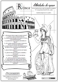 Ancient Rome, Ancient Greece, Ancient History, Social Studies Projects, 6th Grade Social Studies, History Class, World History, Ap Spanish, Spanish Class