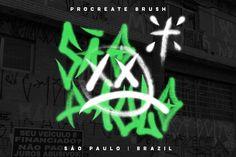 São Paulo - Procreate Brush by amgdstudio on @creativemarket