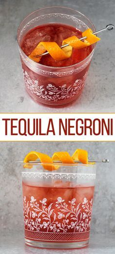 Our recipe for a Tequila Negroni puts a Mexican twist on this classic cocktail. Get the recipe now!