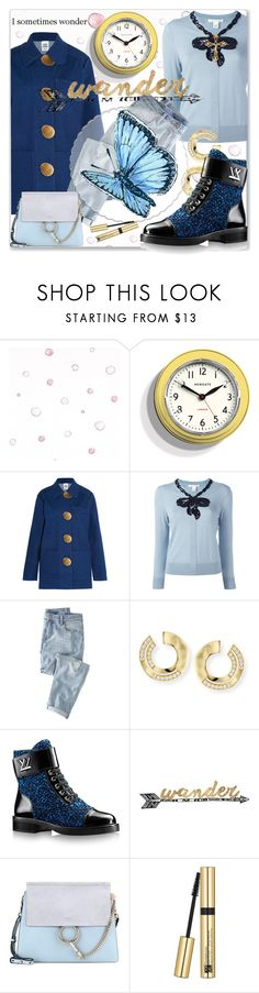"""""""Wander"""" by rita257 ❤ liked on Polyvore featuring Newgate, Opening Ceremony, Marc Jacobs, Wrap, Ippolita, Thirstystone, Chloé and Estée Lauder"""