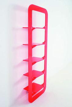 Alexis Tricoire; Plexiglass Bookshelf, 2006.