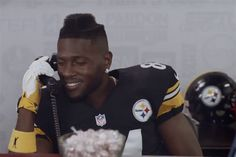 Antonio Brown going for the reception record in hilarious new 'SportsCenter' commercial