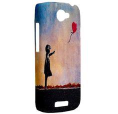 NEW Banksy Balloon Girl Art HTC One S Hardshell Case Cover HTC One S Case Banksy Girl and Balloon Art