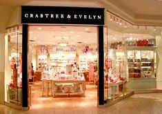 Crabtree & Evelyn,  beauty products and the best cookies