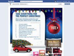 Social media Christmas Facebook campaign. Christmas Campaign, Online Travel, Business Marketing, Online Marketing, Travel And Tourism, Inbound Marketing, Internet Marketing