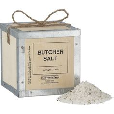 A Perfect Gift Every Day: Sea salt harvested from France's Brittany coast meets fragrant dried herbs in this rustic gift that will both look great on the counter and make itself useful immediately.