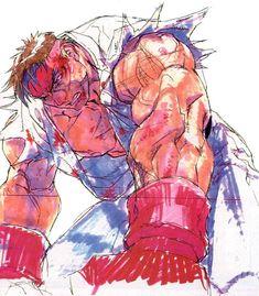 Kinu Nishimura - Street Fighting 3 loosing screen Ryu