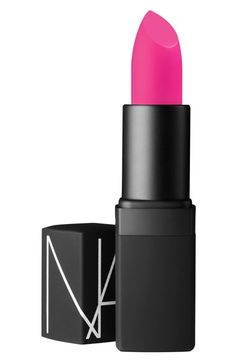 Oh my gosh! I'd feel so pretty in this pink! But I'd only do this for the appropriate occasion! [NARS Lipstick in Schiap | Nordstrom]