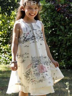 Children's sewing pattern : Dress Malicieuse
