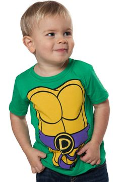 087a691b2 Kids Donatello TMNT Costume Shirt