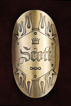Customize this head badge design by InsigniaWorks on Etsy